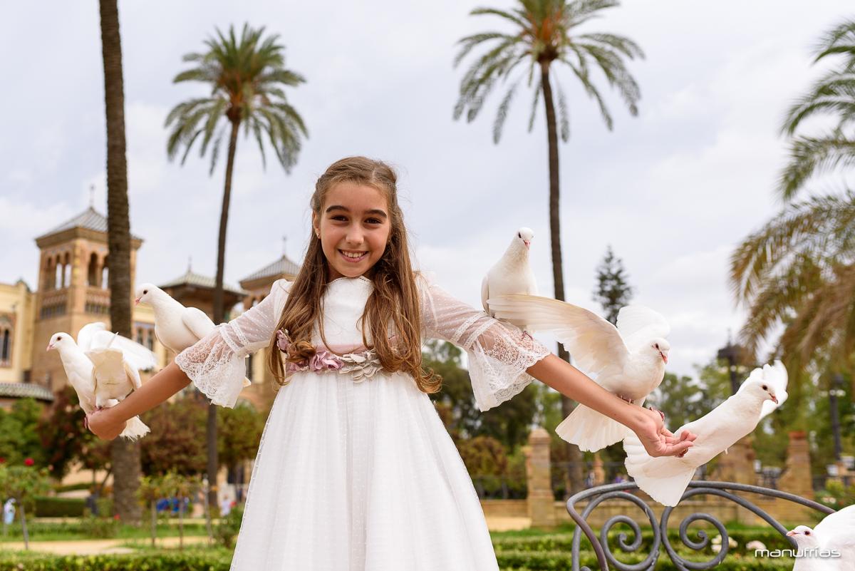 manufrías - Sesión de comunión en Sevilla