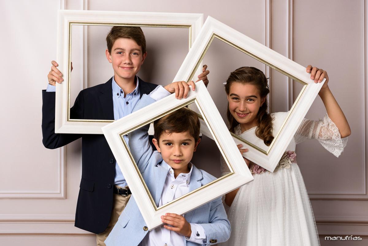 manufrías - fotografía de comunión Sevilla